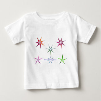 Northern Nordic Star Baby T-Shirt