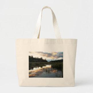 Northern Ontario Sunset Tote Bag