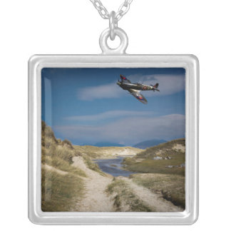 Northern Patrol Square Pendant Necklace