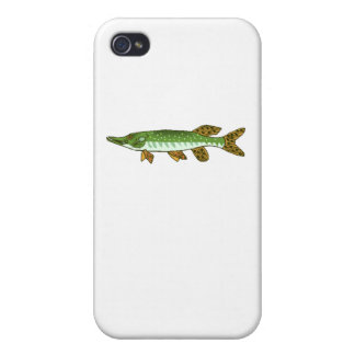 Northern Pike Cases For iPhone 4