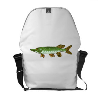 Northern Pike Courier Bags