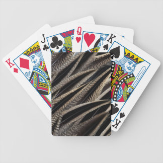 Northern Pintail Duck Feathers Bicycle Playing Cards