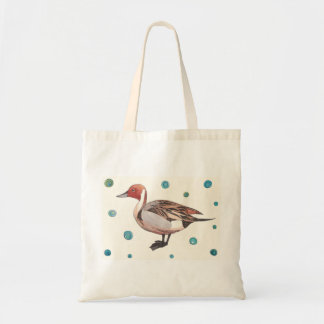 Northern Pintail small tote Budget Tote Bag