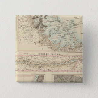 Northern Ports and Harbours in the United States 15 Cm Square Badge
