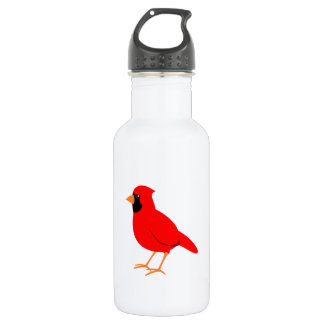 Northern Red Cardinal Bird 532 Ml Water Bottle
