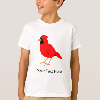 Northern Red Cardinal Bird T-Shirt