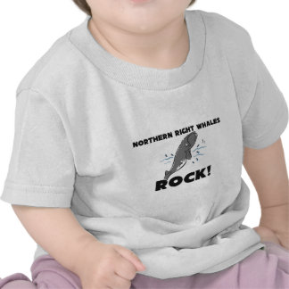 Northern Right Whales Rock T-shirts