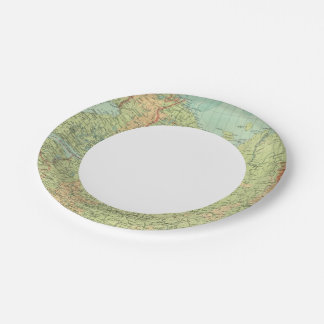 Northern Russia & Finland 7 Inch Paper Plate