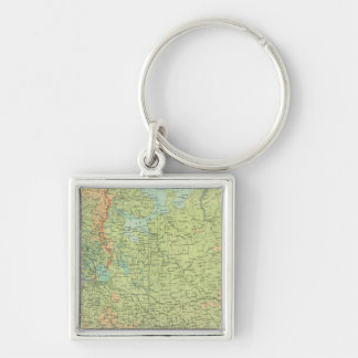 Northern Russia & Finland Key Ring