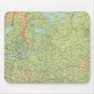 Northern Russia & Finland Mouse Pad