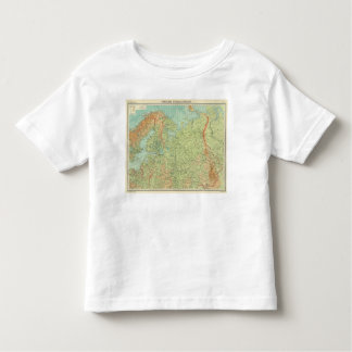 Northern Russia & Finland Toddler T-Shirt