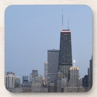 Northern section of the downtown Chicago skyline 3 Drink Coaster