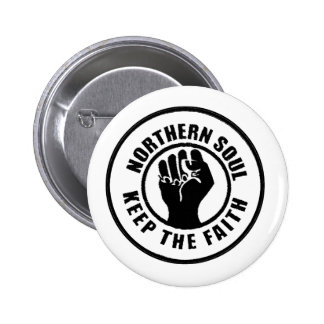 Northern Soul 6 Cm Round Badge