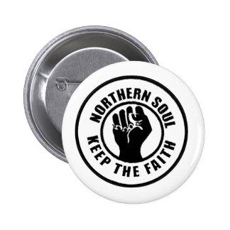 Northern Soul 6 Cm Round Badge