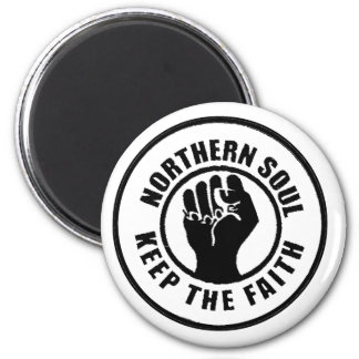Northern Soul 6 Cm Round Magnet