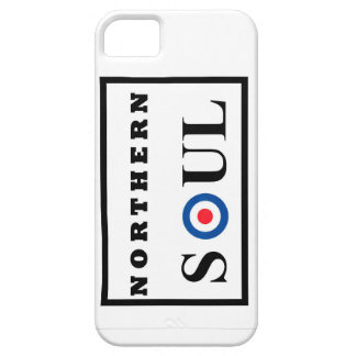 Northern Soul design with Mod Target iPhone 5 Case