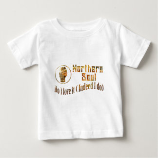 Northern Soul. Do I Love It - Gold Baby T-Shirt