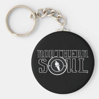 Northern soul Flame bw Key Ring