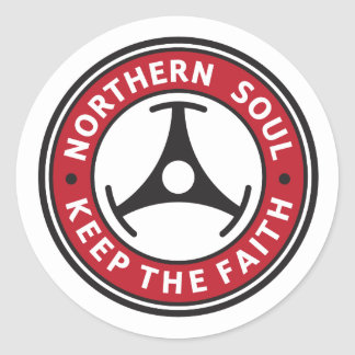 Northern Soul: Keep the Faith Classic Round Sticker