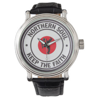 Northern Soul Keep The Faith Dancer Wristwatch