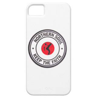 Northern Soul Keep the Faith design with dancer iPhone 5 Cases