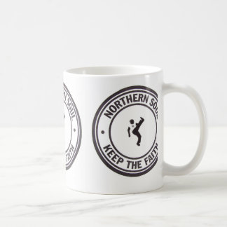 Northern Soul Keep The Faith Slogans & Dancer Coffee Mug