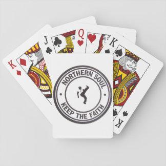 Northern Soul Keep The Faith Slogans & Dancer Poker Deck