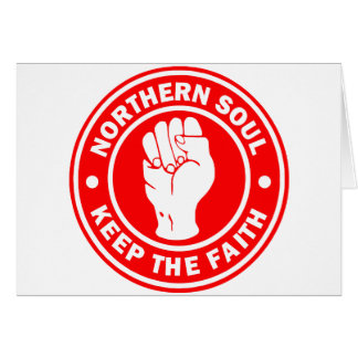 northern soul Logo Red Card