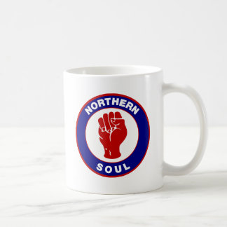 Northern Soul Mod target design Basic White Mug