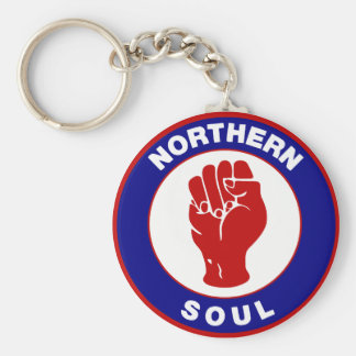 Northern Soul Mod target design Key Ring