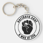 Northern Soul Patch A Way Of Life Keychain