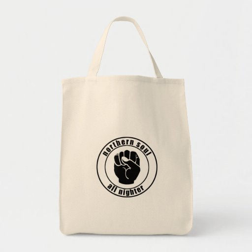 Northern Soul Patch All Nighter Bag