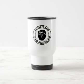 Northern Soul Patch It Will Never Be Over Stainless Steel Travel Mug