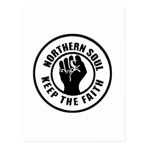 Northern Soul Post Card