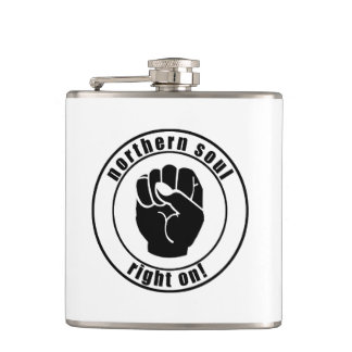 Northern Soul Right On Drink Flask