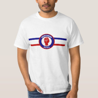 Northern Soul RWB Mens T-shirts