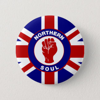 Northern Soul Union jack 6 Cm Round Badge