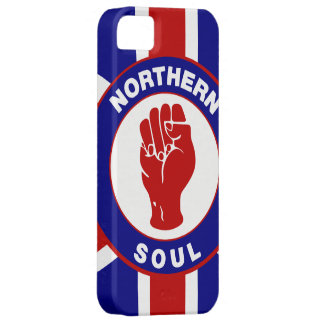 Northern Soul Union jack Barely There iPhone 5 Case