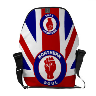 Northern Soul Union jack Commuter Bags