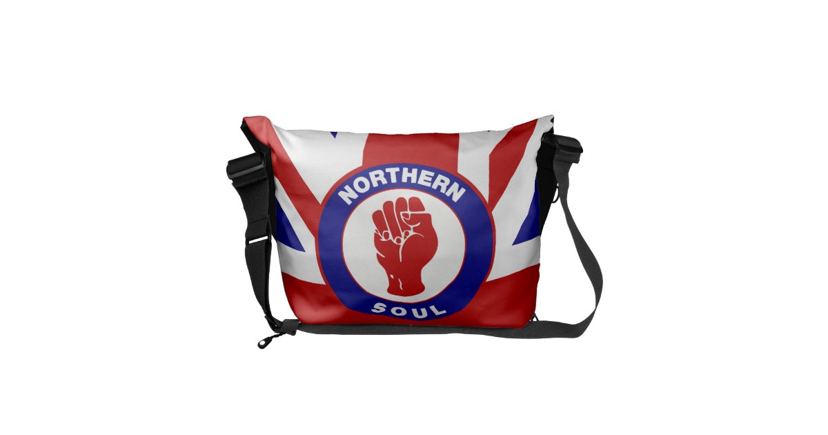 The Commuter >> Northern Soul Union jack Commuter Bags | Zazzle