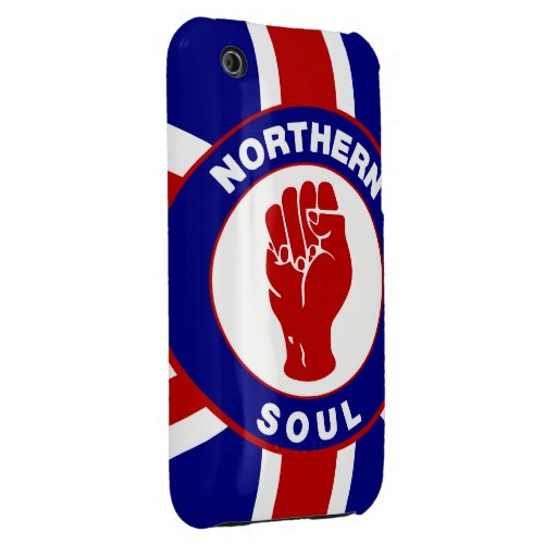 Northern Soul Union jack iPhone 3 Cover