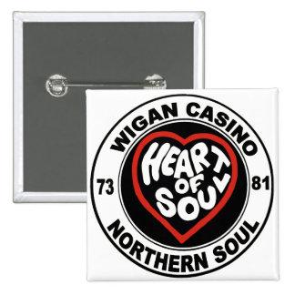 Northern soul Wigan Casino 15 Cm Square Badge