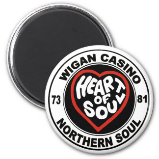 Northern soul Wigan Casino 6 Cm Round Magnet