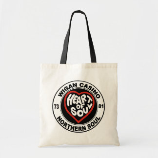 Northern soul Wigan Casino Budget Tote Bag