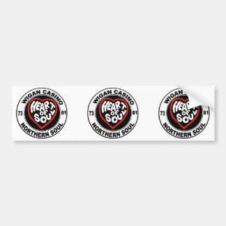 Northern soul Wigan Casino Bumper Sticker