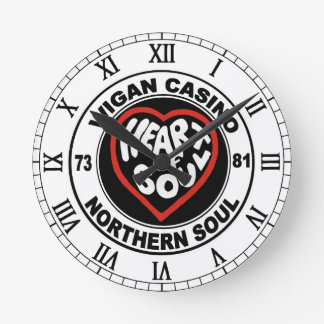 Northern soul Wigan Casino Round Clock