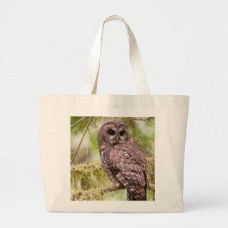 Northern Spotted Owl Jumbo Tote Bag