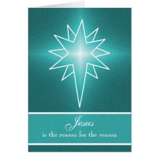 Northern Star Vertical Christmas Card