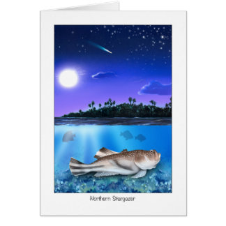 Northern stargazer thinking of you card