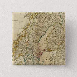 Northern States Scandinavia 15 Cm Square Badge